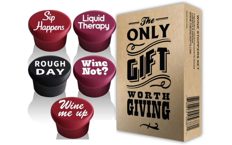 Vinakas Silicone Wine Stoppers