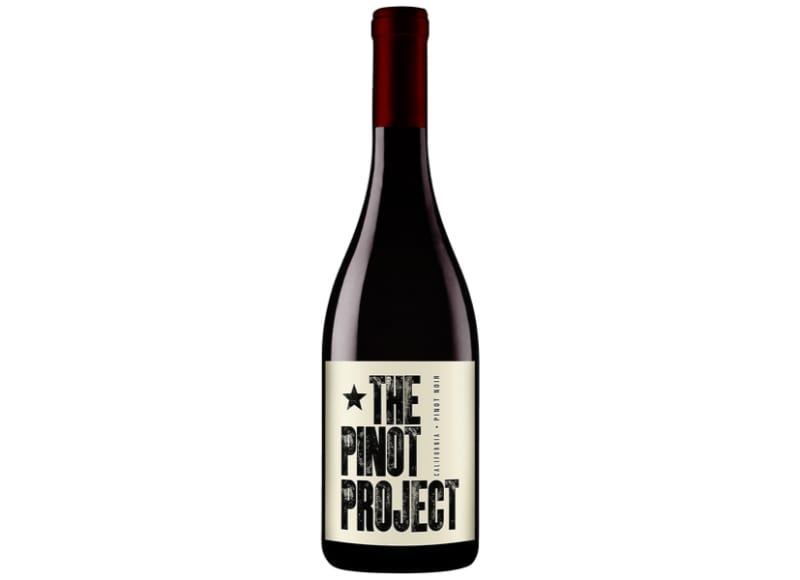 A bottle of The Pinot Project California Pinot Noir