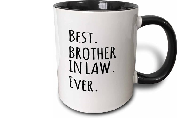 3dRose Best Brother in Law Ever Mug