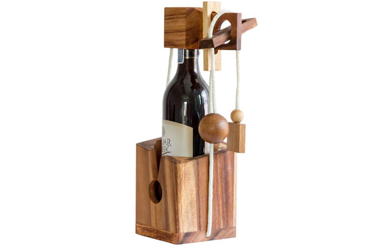 BSIRI Gifts Wine Bottle Puzzles Drinking Games