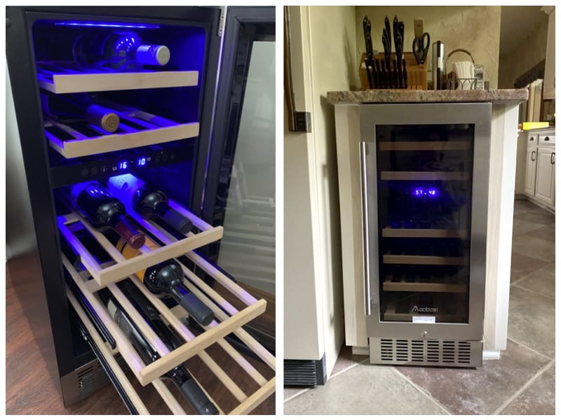 Aobosi Wine Refrigerator Customer Images