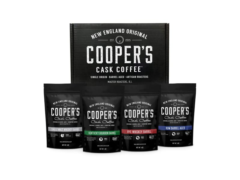 Cooper's Cask Coffee Bourbon & Whiskey Barrel Aged Coffee
