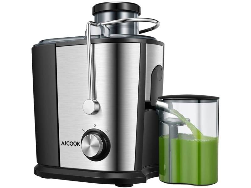 Aicook Compact Fruits & Vegetables Juicer