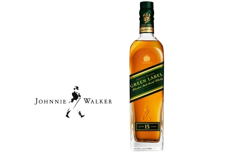 Johnnie Walker 15 Year Green Label Blended Scotch Whisky