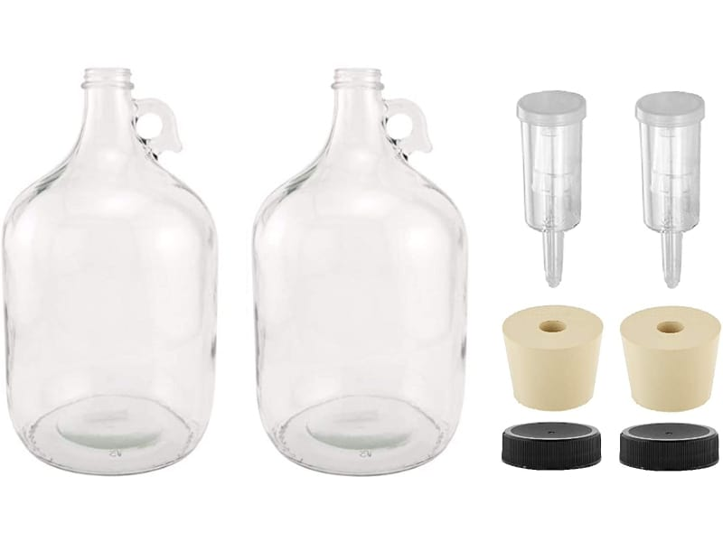 North Mountain Supply 1G-38-ST-3P-2 Fermenting Jug