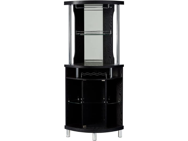 Home Source Corner Bar Unit