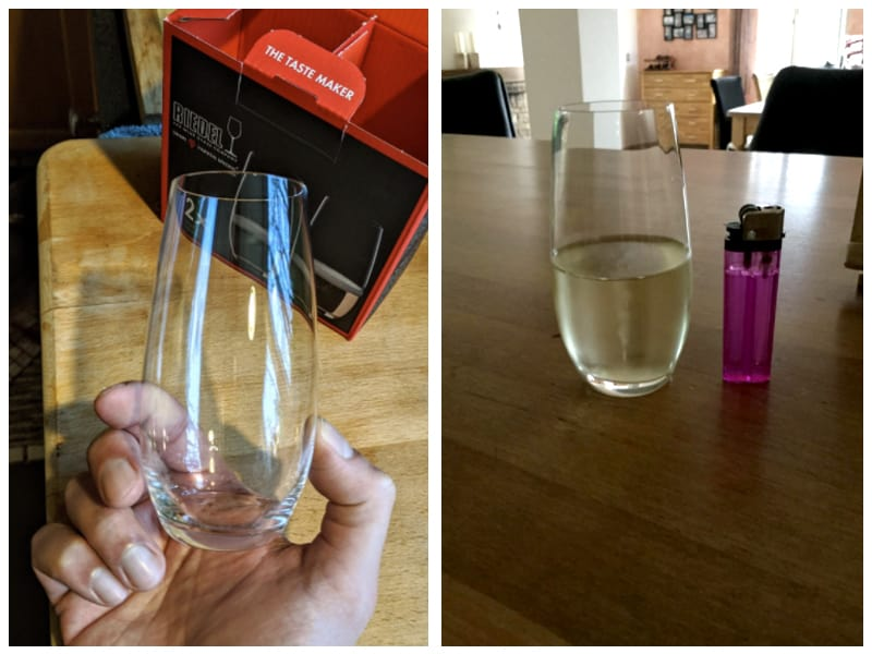 Riedel O Wine Tumbler Champagne Glass Customer Images