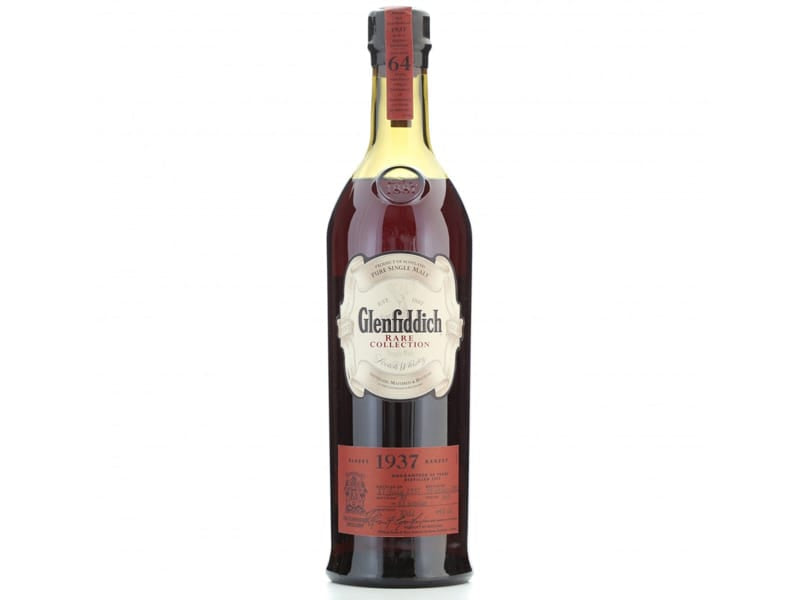 Glenfiddich 1937 Rare Collection Scotch (64-Year Old)