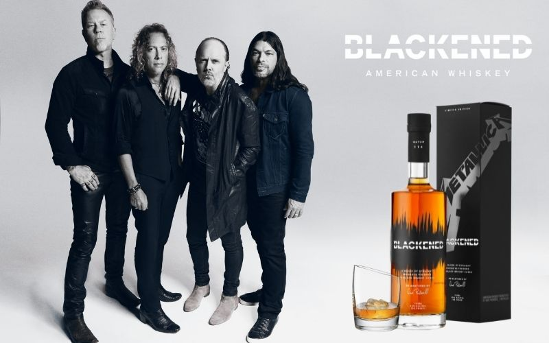 Metallica and a BLACKENED whiskey on the side