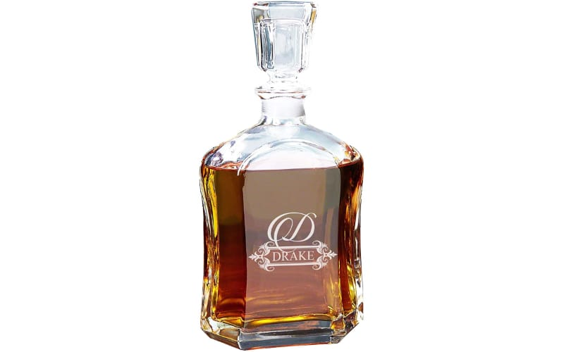 My Personal Memories Personalized Engraved Liquor Decanter