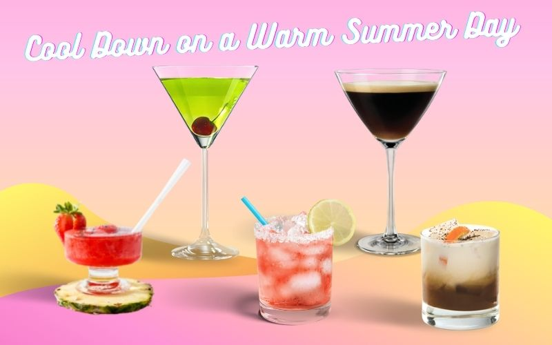 5 Ice-Cold Summer Cocktails