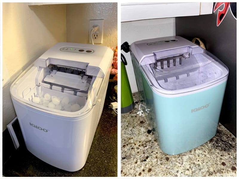 Igloo ICEB26WH Portable Electric Ice Maker Customer Images