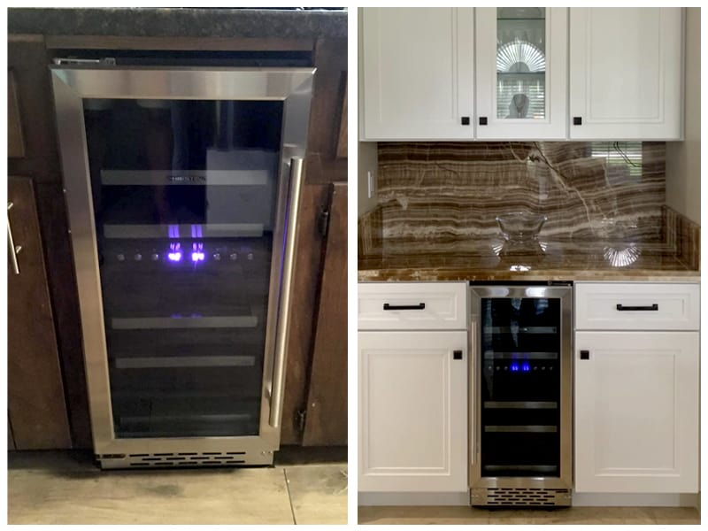 Phiestina Wine Refrigerator Customer Images