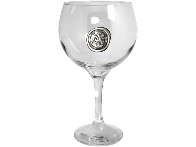 English Pewter Company Personalized Gin Glass