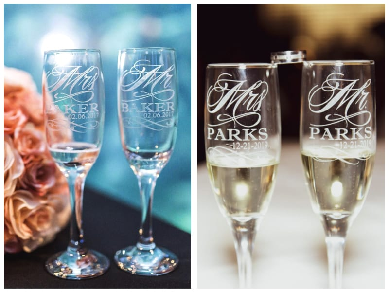Stockingfactory Mr. and Mrs. Champagne Flute Customer Images