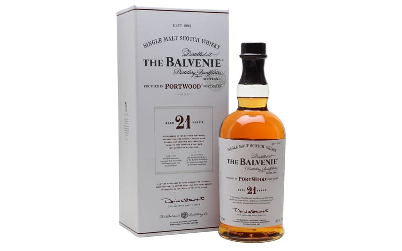 The Balvenie Portwood Scotch Whisky (21-Year Old)