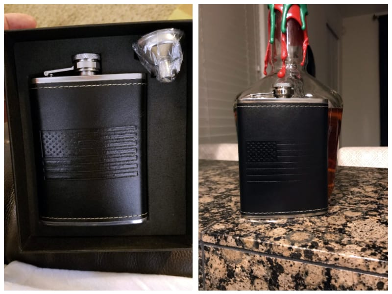 OUTZIE American Flag Flask Customer Images