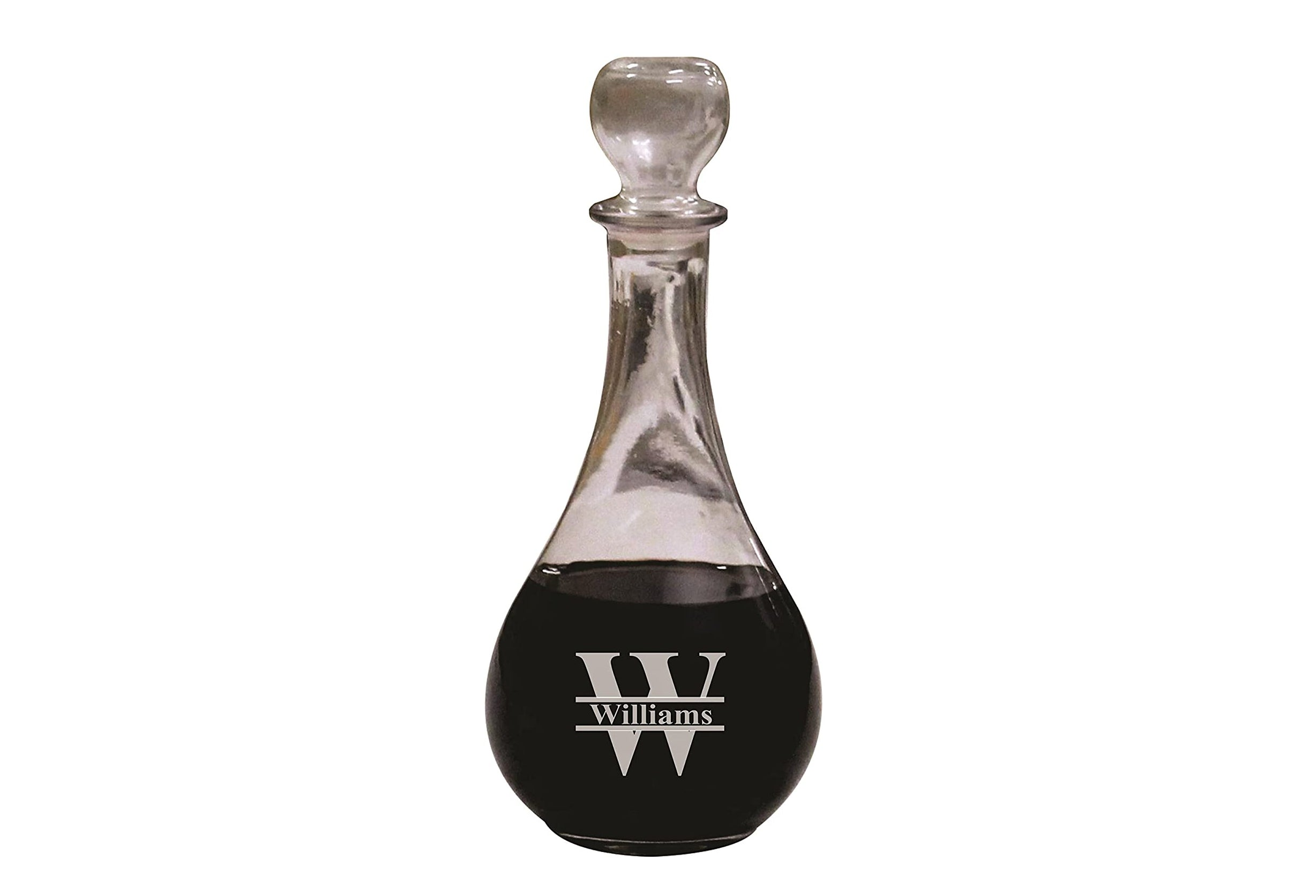 Personalized Wine Decanter with Stopper