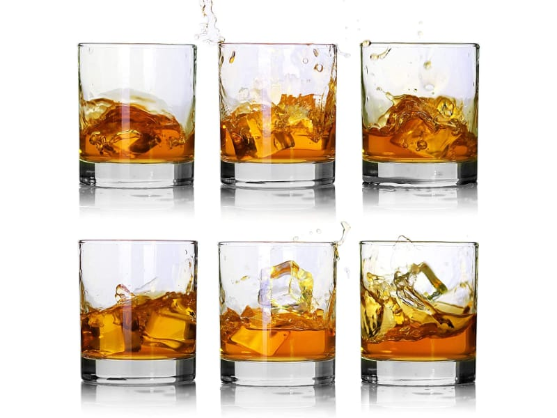Luxu Old Fashioned Whiskey Glasses