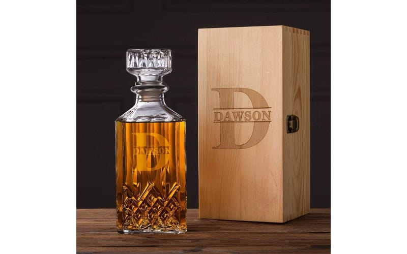 What's Custom Groomsmen Gifts Personalized Whiskey Decanter