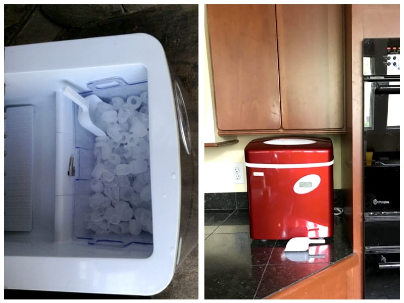 NewAir AI-215SS Portable Ice Maker Customer Images