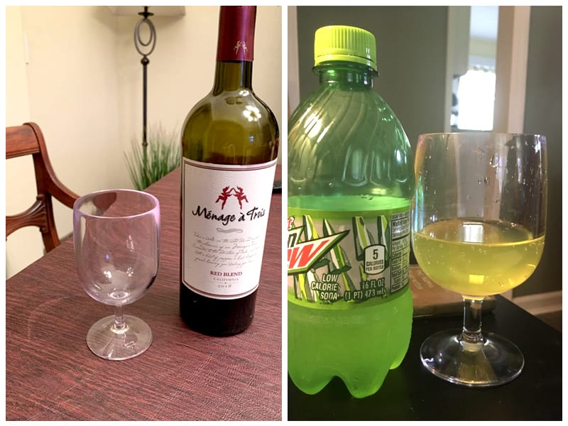 US Acrylic Reusable Plastic Wine Glass Customer Images