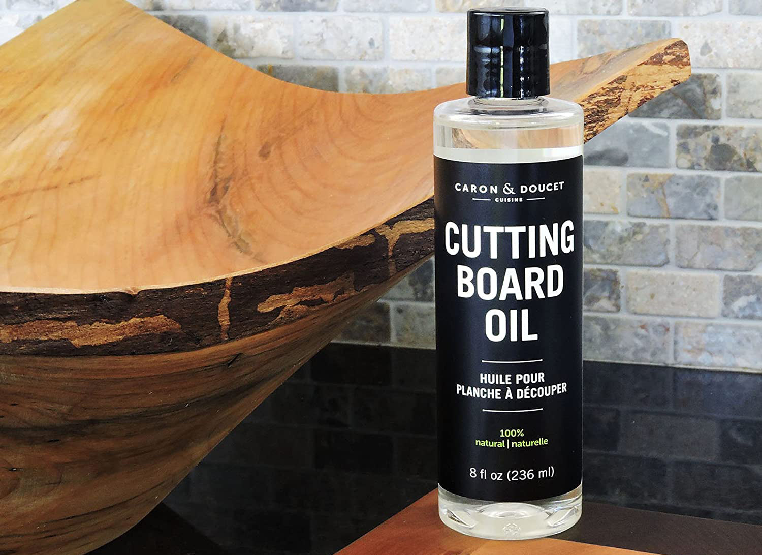 Caron & Doucet - Cutting Board & Butcher Block Conditioning Oil & Wood Finishing Wax