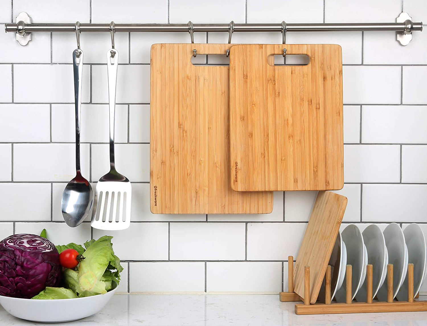 Bamboo Cutting Boards for Kitchen
