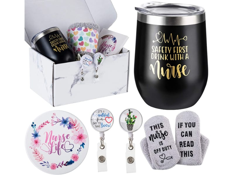 Hereman's Wine Tumbler Gift Box
