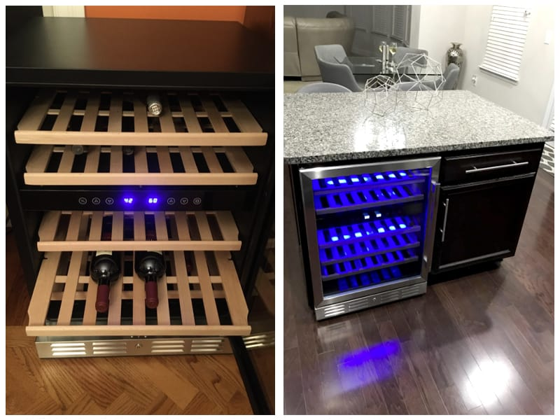 Kalamera Wine Refrigerator Customer Images
