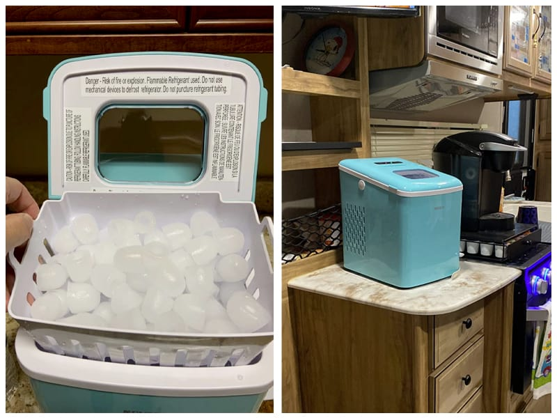 NOVETE Portable Ice Maker Machine Customer Images