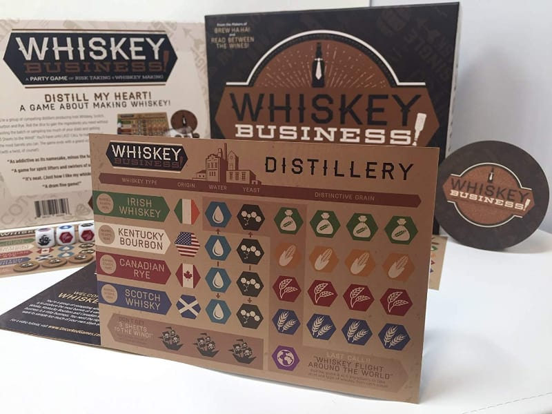 UNCORKED! Games Whiskey Business!