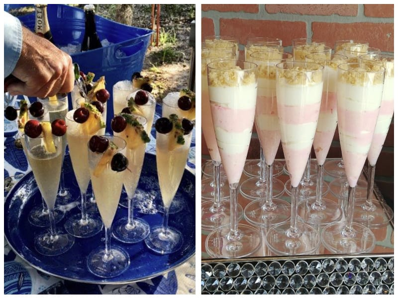 US Acrylic Champagne Glass Customer Images