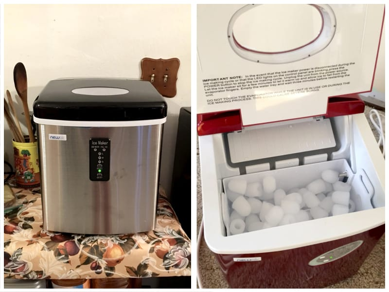 NewAir Portable Ice Maker Customer Images