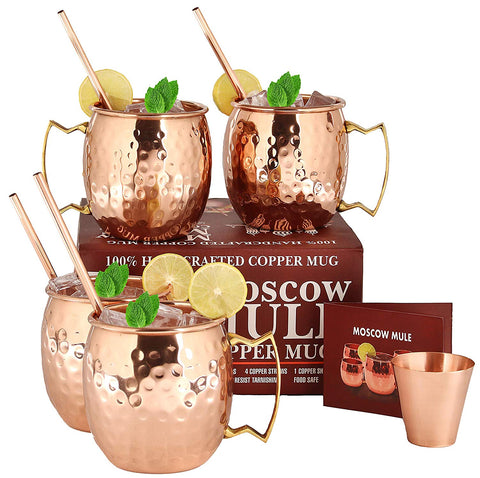 A29 Moscow Mule Solid Pure Copper Unlined Mug/Cup