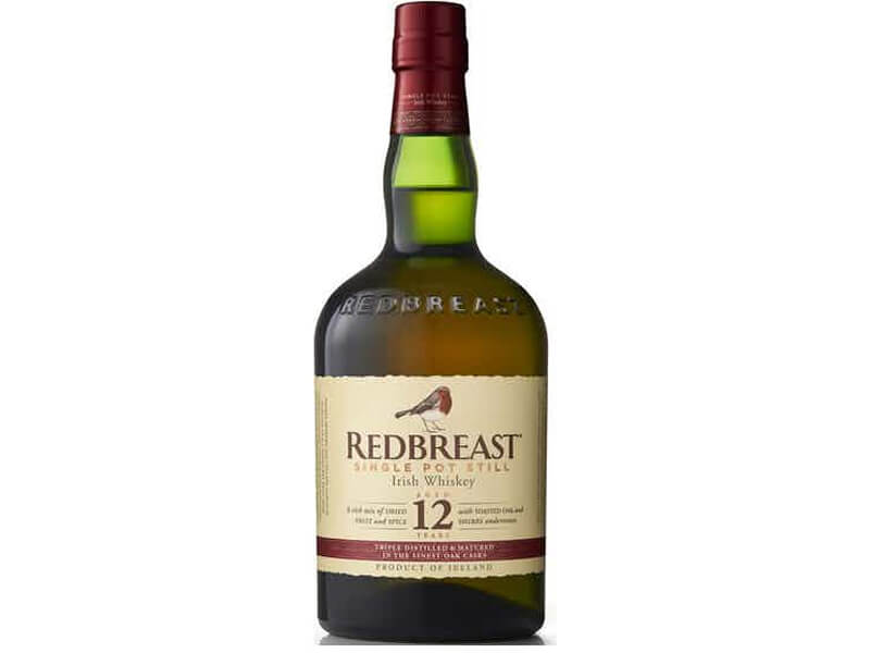 A bottle of Redbreast