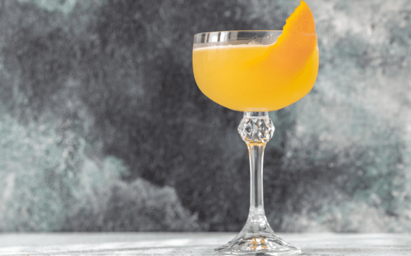 A glass of Bees' Knees