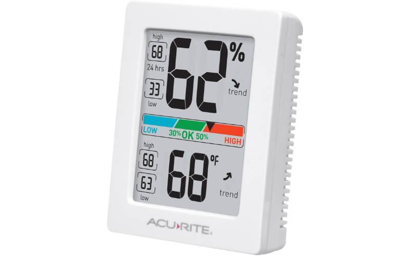 AcuRite Thermometer and Humidity Gauge
