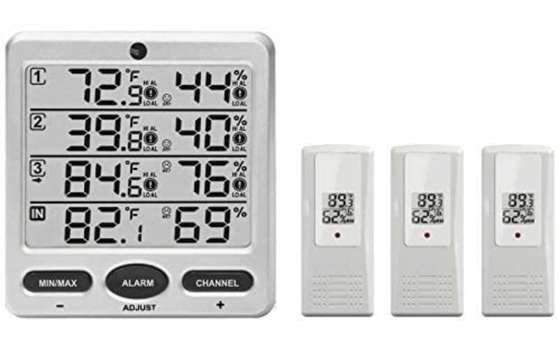 Ambient Weather WS-10 Thermometer Hygrometer