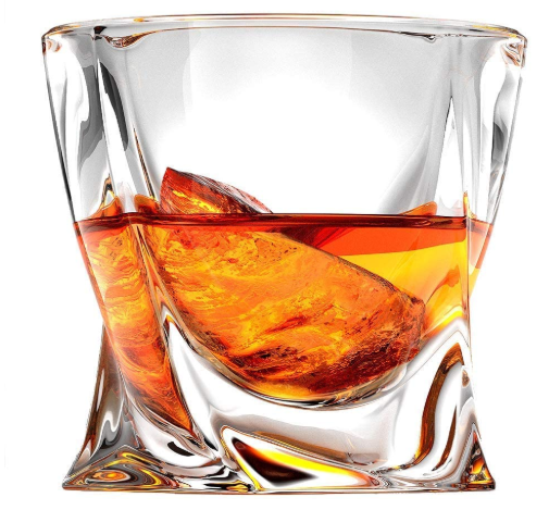 Ashcroft Twist Whiskey Glass - AdvancedMixology