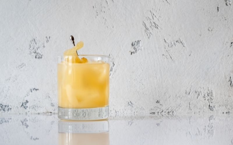 Autumn In New England cocktail