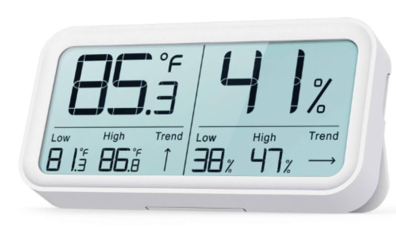 BFOUR Hygrometer Indoor Thermometer