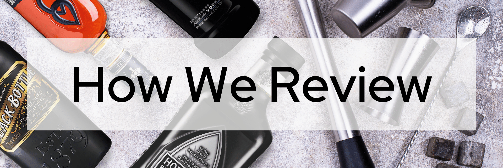 How we review products on our best articles