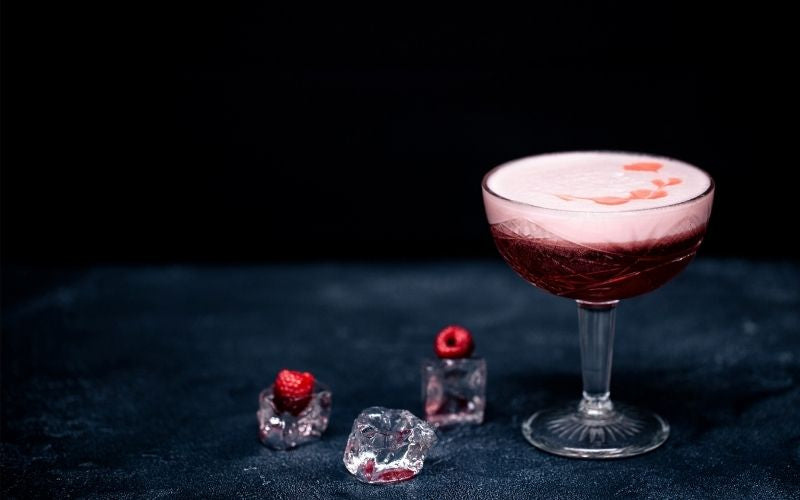 Berry Ginger Champagne Cocktail