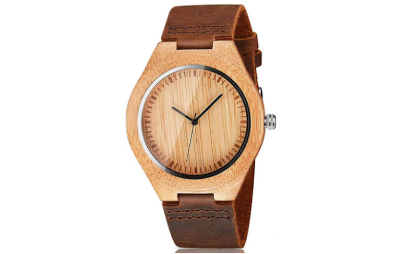 CUCOL Men's Wooden Watches with Gift Box