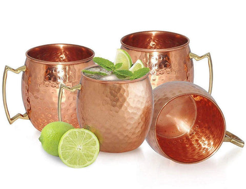 Chef's Star 4 Handmade copper moscow mule mug