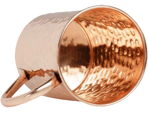 Classic Style Moscow Mule Copper Mug with Copper Handle