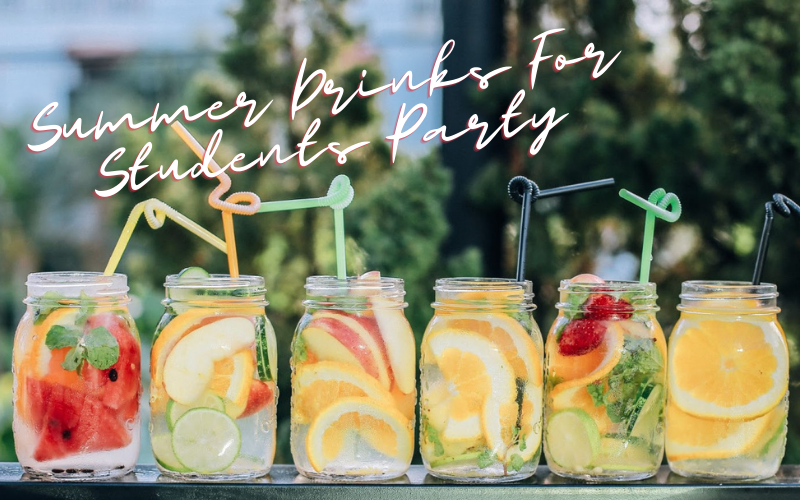 Summer Drinks For Students Party