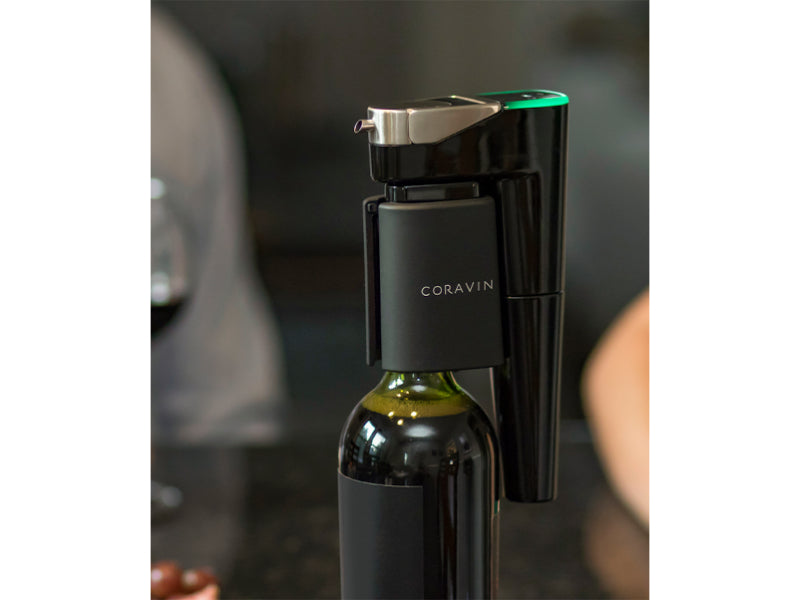 Coravin Model Eleven On A Bottle Of Wine