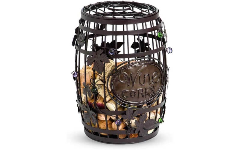 Epic Products Wine Barrel Cork Cage